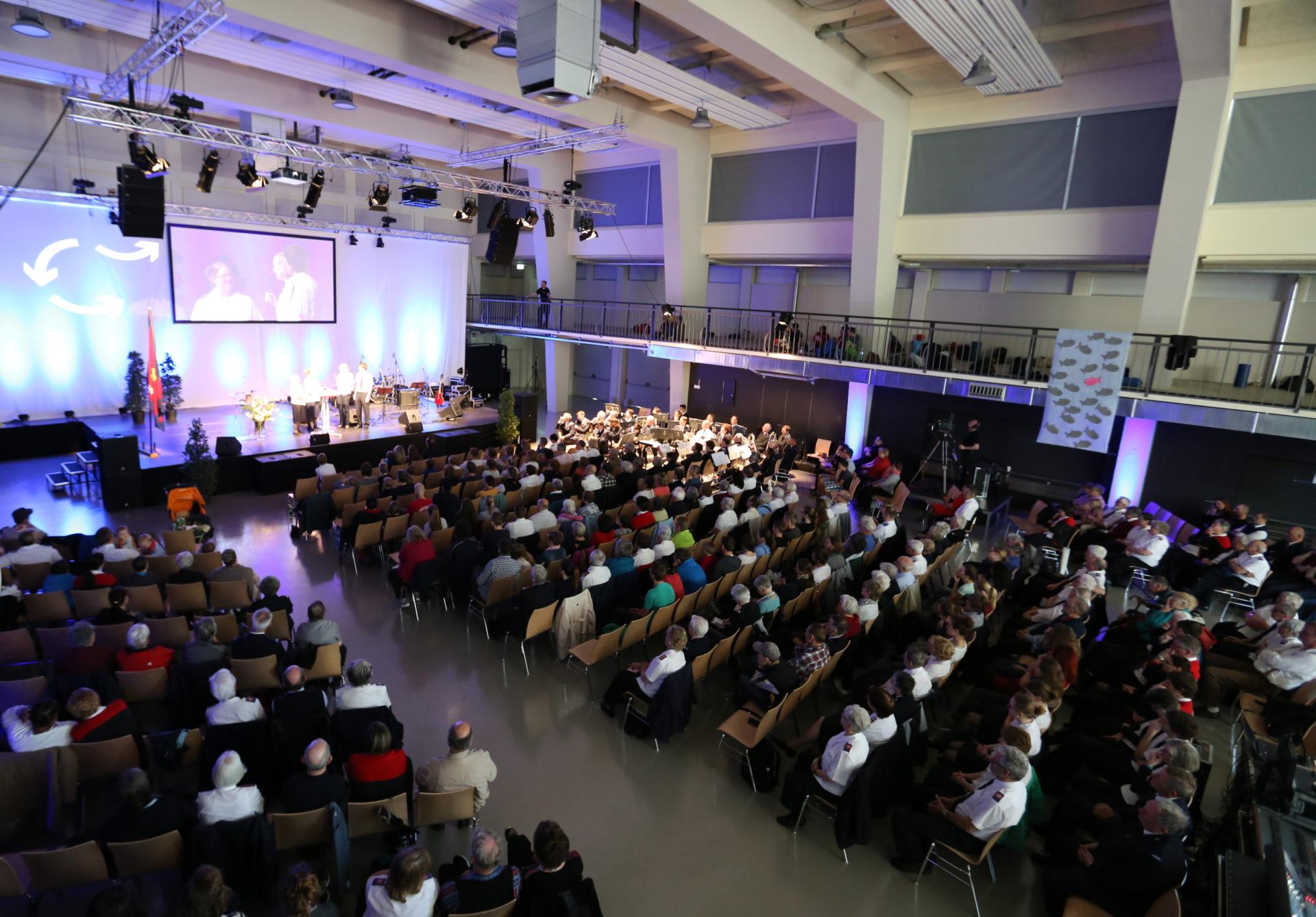 Versammlung Heilsarmee Division Mitte